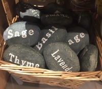 My pet rock, Plant Markers
