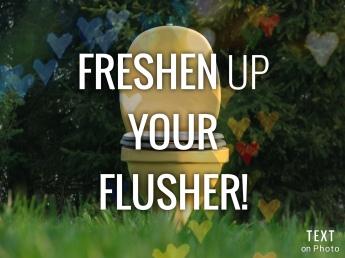 Freshen up your Flusher