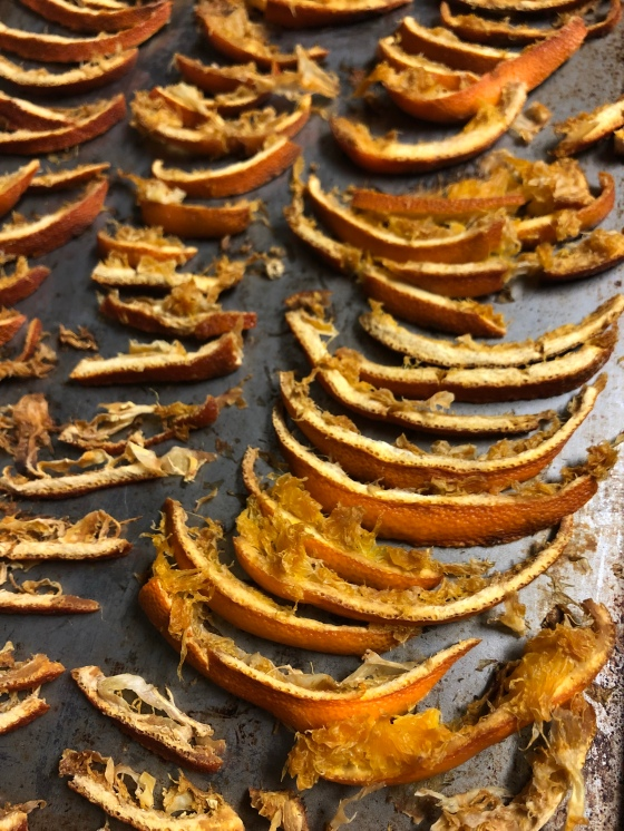 Dehydrated Citrus Peels